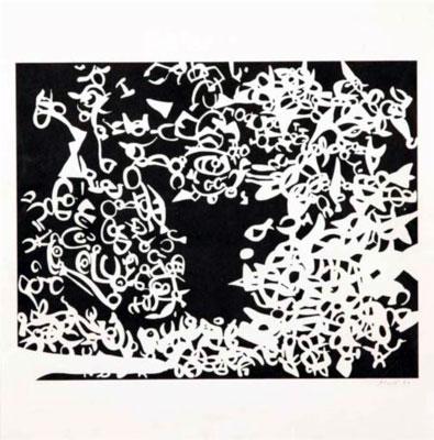 carla accardi litografia 1957