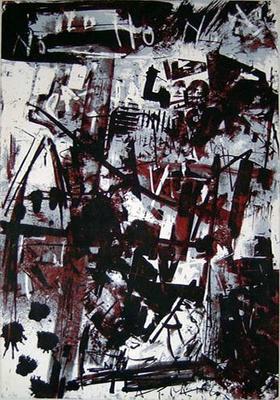 emilio vedova spagna n1 litografia 1970