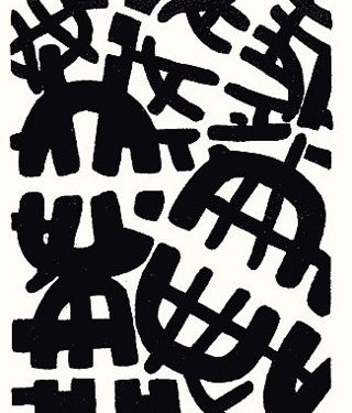 giuseppe capogrossi litografia 1950