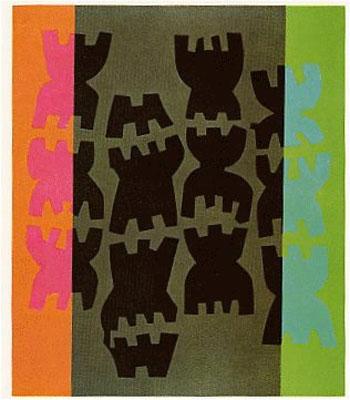 giuseppe capogrossi quarzo 10 litografia 1970