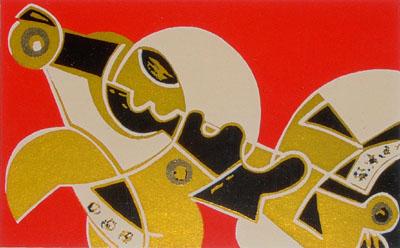 umberto mastroianni serigrafia 1992 A