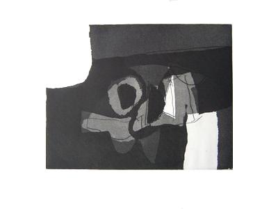 afro nero IV acquaforte 1969