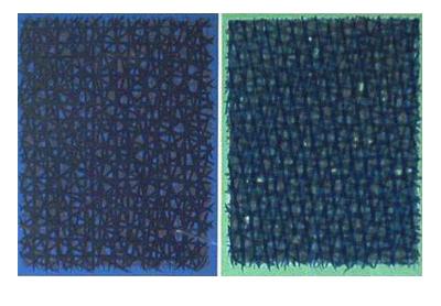 piero dorazio A verde B blu serigrafia 1963-84